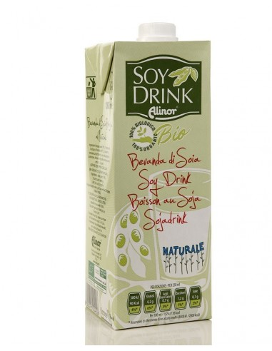 ALINOR – Băutură BIO de soia natur, 1 l