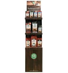 Stand carton Lebensbaum pentru cafea