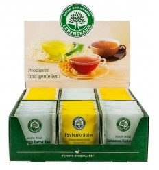 Display carton cu ceaiuri Lebensbaum