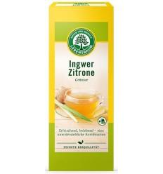 Lebensbaum – Ceai bio verde de ghimbir si lamaie, 20 plicuri x 2 g, 40 g