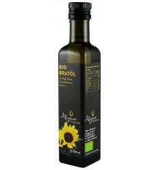 Ulei bio de floarea soarelui pentru prajit, 250 ml