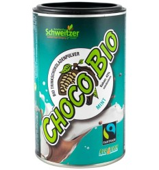 SCHWEITZER REINHARD -Choco BIO – Bautura bio instant de ciocolata cu menta (pudra), 250 g