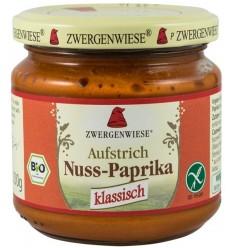 Zwergenwiese – Crema tartinabila bio vegetala cu ardei si nuci caju, 200g