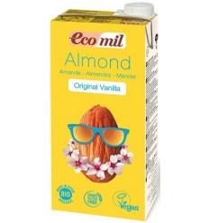 ECOMIL – Băutură BIO de migdale cu aromă de vanilie, 1 l