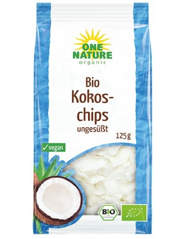 ONE NATURE - Fulgi bio de cocos uscati, 125g