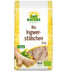 ONE NATURE - ghimbir bio bucati, 100g