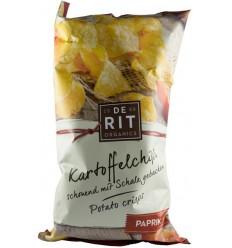 De Rit - Chipsuri bio de cartofi cu gust de ardei, 125 gr