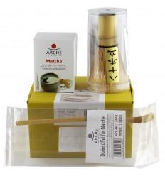 Pachet cadou ceai si ustensile Matcha - original japonez
