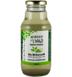 Absolutely Wild - Seva BIO de mesteacan cu ceai matcha, 330ml