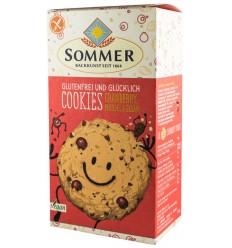 Sommer - Biscuiti BIO fara gluten cu merisor, migdale, susan si chia, 125g