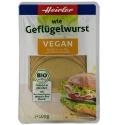 HEIRLER – ca si…salam din carne de pasare, BIO, vegan, 100g