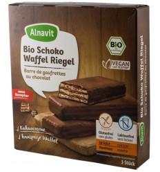 Alnavit – Napolitane BIO trase in ciocolata, 75 g