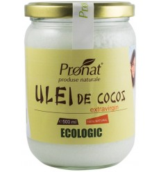 ULEI DE COCOS ECOLOGIC EXTRAVIRGIN, 500 ML