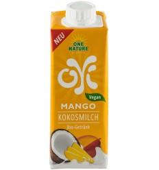 ONE NATURE – OYI Bautura BIO din lapte de cocos cu mango, 250 ml
