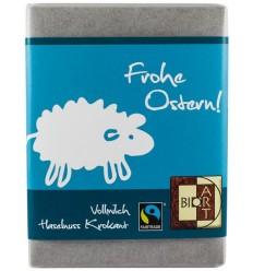 """BIO ART – Ciocolata crocanta cu lapte si alune BIO si fairtrade """"Paste fericit"""", 70g"""
