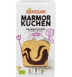 BIOVEGAN - Premix pentru prăjitură bio marmorata cu roscove, 380g