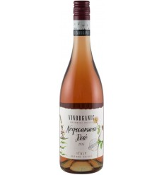 VINORGANIC - Vin BIO Negroamaro Rose 11.5% vol, 750 ml