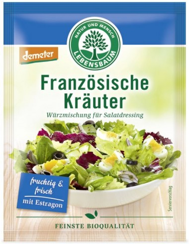 Lebensbaum – amestec BIO de condimente pentru salata frantuzeasca,3x5g