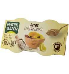 NATUR GREEN – DESERT BIO CU OREZ, SCORTISOARA SI LAMAIE, 2X125 G
