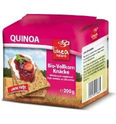 Paine BIO crocanta din faina integrala de Quinoa, 200g Linea Natura