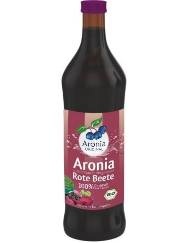 Aronia Original – Suc BIO de aronia cu suc de secla rosie lacto fermentat, 700ml