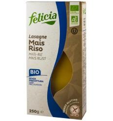 Lasagna Bio malai si orez, 250g Felicia