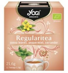 Yogi Tea - Ceai BIO laxativ cu frunze de senna, menta si coriandru, 12 plicuri - 21,6g