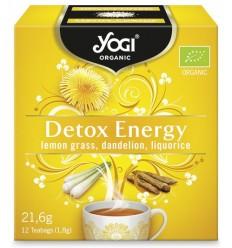 Yogi Tea - Ceai BIO detoxifiant cu lemongrass,  papadie si lemn dulce, 12 plicuri - 21,6g