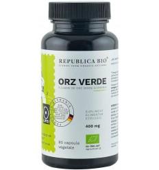 Orz Verde bio din Germania (400 mg), 90 capsule (44,5 g)