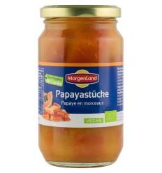 MORGENLAND -Papaya bucăți, 350 g
