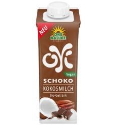 One Nature – OYI lapte BIO de cocos cu ciocolata, 200ml