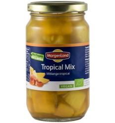 Morgenland - Compot BIO, mix din fructe tropicale, 360g/230g