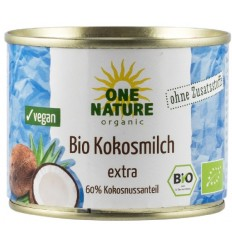 ONE NATURE - Lapte de cocos BIO extra, 200 ml
