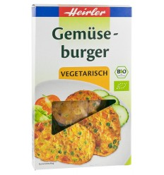 Heirler – Burger vegetal, BIO, 150g