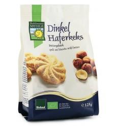 Bohlsener Muhle – Biscuiti Bio din faina de grau spelta, cu ovaz si unt, 125g