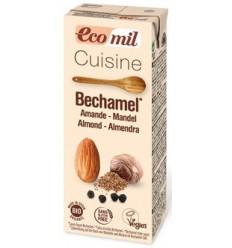 Ecomil Cuisine – Sos BIO Bechamel pe baza de migdale, 200ml