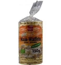 Linea Natura – Turte BIO de porumb cu seminte de in, 150g