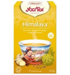 Ceai Bio HIMALAYA Yogi Tea, 17 pliculetex2 g, 34 g
