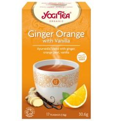 Ceai BIO Ghimbir cu portocale si vanilie Yogi Tea® 30 g