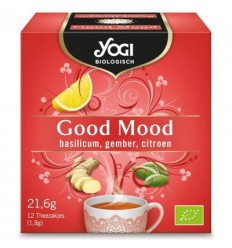 Yogi Tea – Ceai ecologic Good Mood, 21.6 g