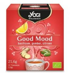 Yogi Tea – Ceai ecologic Good Mood, 21.6 g