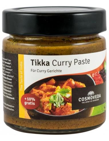 Cosmoveda – Pasta de curry BIO Tikka, 175g