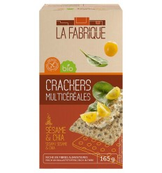 La Fabrique – Paine crocanta bio cu seminte de susan si chia, 165 g