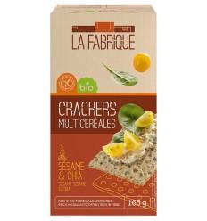 Paine crocanta bio cu seminte de susan si chia, 165 g La Fabrique