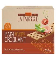 Paine crocanta cu ovaz, 230 g La Fabrique