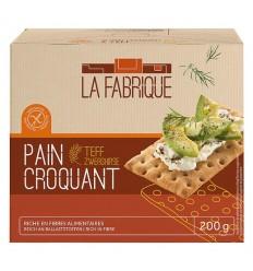 La Fabrique – Paine crocanta cu teff, 200 g