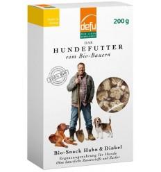 Defu BIO Gustare pentru câini – Pui & Alac – 200 g