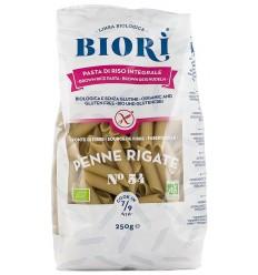 BIORI – Penne Rigate bio din faina de orez integral, 250 G