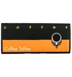 ZOTTER – Ciocolata BIO facuta manual Coffee Toffe, 70g