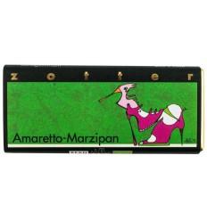 ZOTTER – Ciocolata BIO facuta manual Amaretto martipan, 70g